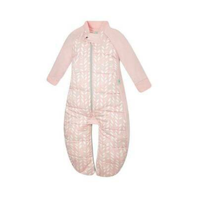 NEW ergoPouch Sleep Suit Bag 3.5 tog - Spring Leaves 2-12 Months Free Shipping