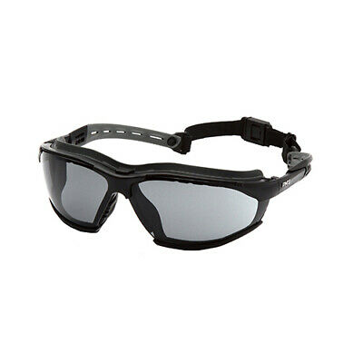 727537fa913 Pyramex Safety GB9420STM Gray Isotope H2MAX AF Safety Glasses w  Black Frame