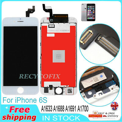For iPhone 6S 4.7''Screen LCD Display Touch Digitizer Replacement White Assembly