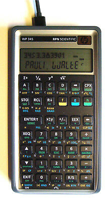 ++ Programmable RPN calculator WP-34s based on HP-42s / HP-30b + USB + TIME + IR