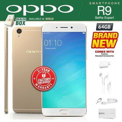 NEW & SEALED Factory Unlocked VIVO Y53 Gold Dual SIM 16GB Android