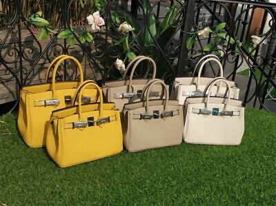 d5bc05f3e18 Sac de Jour Extra Large Birkin Bag Crocodile-Embossed Leather Satchel.   400.00 Buy It Now 16d 15h. See Details. Leather Inspired Birkin Bag Women  Tote ...