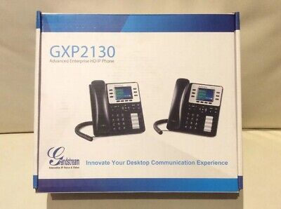 IP Phone Grandstream GXP2130 VoIP SIP Telephone. Stand alone or with PBX system