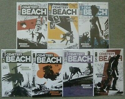 Cemetery Beach #1-7 Set..warren Ellis/Jason Howard..image 2018 1St Print..nm