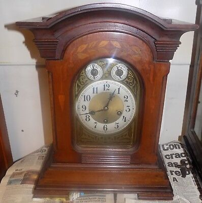 Westminster Chime Bracket Mantel Clock made by the Junghans