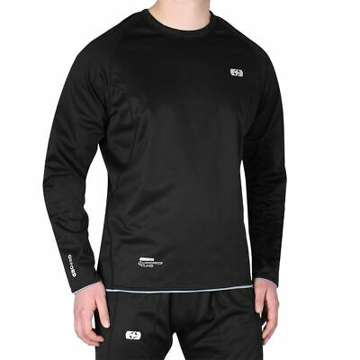 Oxford Chillout Motorcycle Base Layer Motorbike Under Shirt Top Sports Black