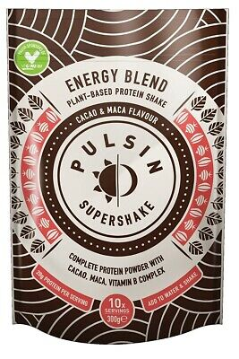 Pulsin | Supershake | Energy Cacao & Maca | 300g