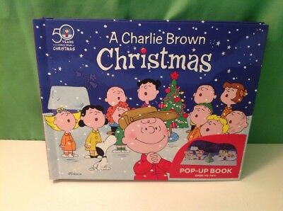 A Charlie Brown Christmas Book.A Charlie Brown Christmas Pop Up Edition By Charles Schulz Hallmark 2015