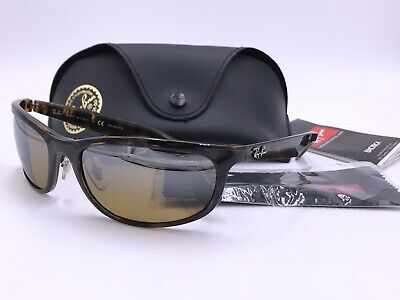 addcbae075 Ray Ban RB4265 CHROMANCE 710 A2 Polarized Brown Mirror TORTOISE AUTHENTIC