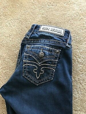 54fa480d9ab Women s Rock Revival Jeans Alivia Easy Skinny Size 26 Great Pre-owned  Condition