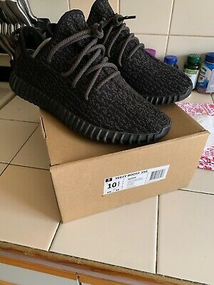 114d4201edcef Adidas Yeezy Boost 350 Pirate Black V1 Og 2015 Used Size 10.5 Turtle Dove  Oxford