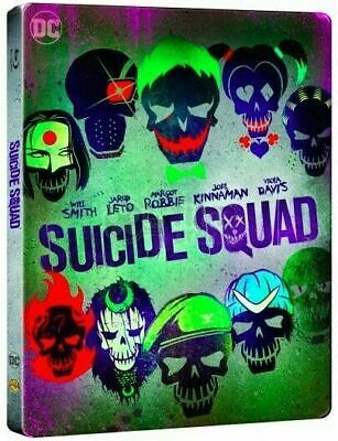 Suicide Squad - Limited Edition SteelBook  [4K Ultra HD + Blu-ray] New & Sealed!