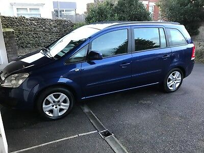 2010 VAUXHALL ZAFIRA 1.7 CDTI ecoFLEX EXCLUSIVE NONE RUNNER