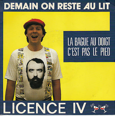 45Trs Vinyl 7'' / French Sp Licence Iv / Demain On Reste Au Lit / Neuf