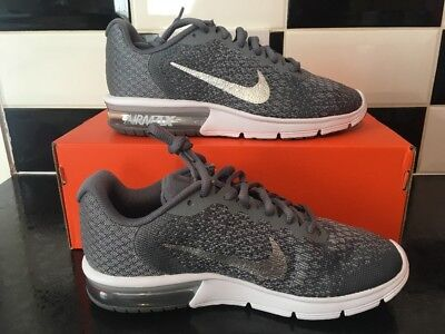 los angeles f3807 c8ca0 L60 Nike AIR MAX SEQUENT 2 UK 5 EU 38.5 RUNNING TRAINERS 852465-008