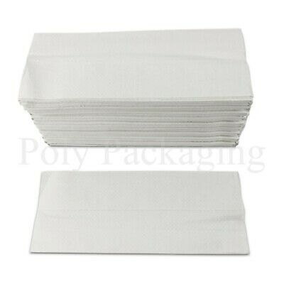 WHITE C FOLD Paper Hand Towels 2 Ply Multi Fold Tissues Toilet BATHROOM ANY QTY