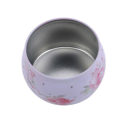 Wedding Favor Bridal Iron Pattern Candy Round Boxes Home Tinplate Case Gift LH