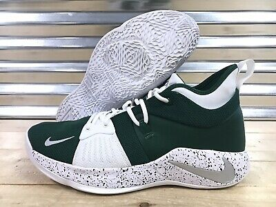 9c5db567240a Nike PG 2 iD Basketball Shoes Green White Silver Speckle SZ 11 ( CI0280-991