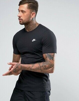 Nike mens t shirt top M L XXL grey olive green short sleeve cotton crew neck gym