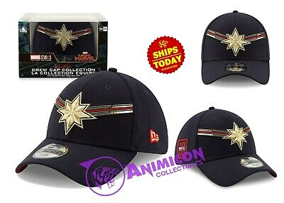 Disney Store CAPTAIN MARVEL BASEBALL CAP For Adults NEW ERA 10TH Brie Movie 2019