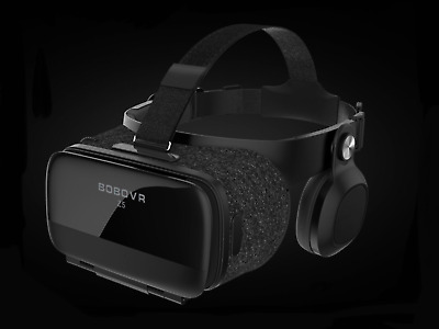 BOBOVR Z5 2018 Virtual Reality 3D Headset Integrated Audio120 Degree FOV iOS/And