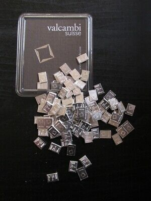 Valcambi Suisse 1 Gram .999 Silver Bars