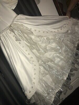 First Holly Communion dress age 8-9, white,
