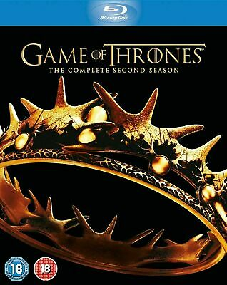 Game of Thrones - The Complete Season 2 [Blu-ray] New and Factory Sealed!!