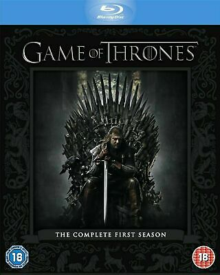 Game of Thrones - The Complete First Season  [Blu-ray] New and Factory Sealed!!
