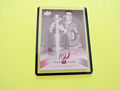 2008-09  Montreal Canadiens Centennial Parallel Cup 9 {1956-57} Card #185