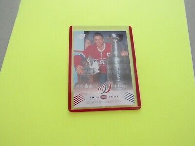 2008-09  Montreal Canadiens Centennial Parallel Cup 13 {1964-65} Card #189