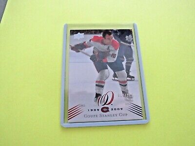 2008-09  Montreal Canadiens Centennial Parallel Cup 14 {1965-66} Card #190