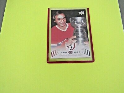 2008-09  Montreal Canadiens Centennial Parallel Cup 20 {1976-77} Card #196