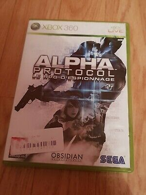 ×× SUPER JEU VIDEO XBOX 360 - ALPHA PROTOCOL LE RPG D'ESPIONNAGE ×× notice