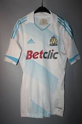 Olympic Marseille 2011 2012 Player Issue Techfit Football Shirt Jersey Maillot