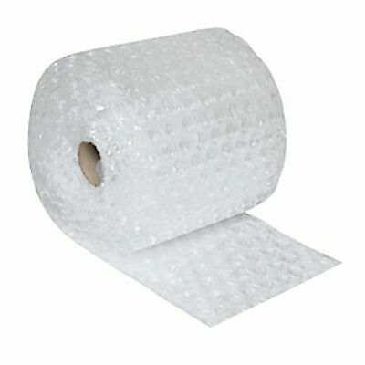 """50' LARGE Bubble Cushion Wrap Roll 12"""" Wide 1/2"""" Bubbles Perforated Every Foot"""