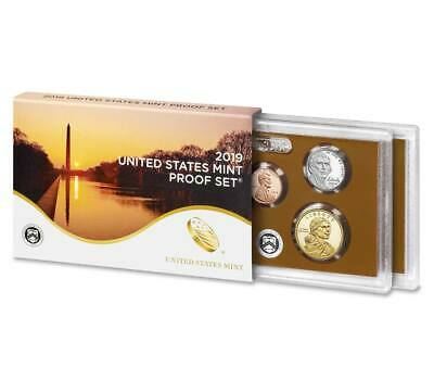 2019 US Mint Proof Set 10 Coin Mint Fresh No extra W Penny
