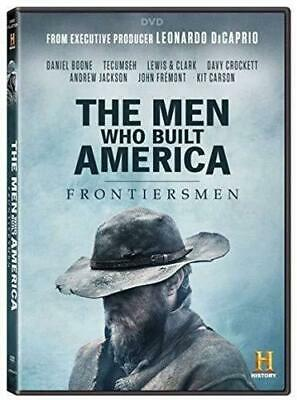 Brand New Sealed The Men Who Built America: Frontiersmen (DVD,2018)