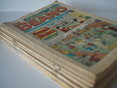 Vintage Beano Comic Magazine Collection Job lot 41 Issues 1988 - 1992 Good +