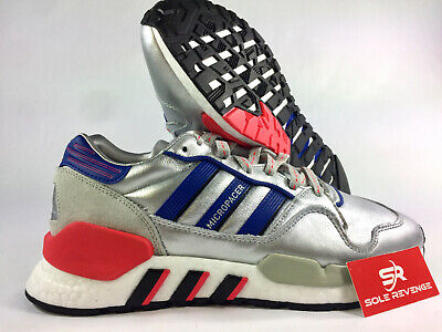 more photos 9bc4a 26c0d ADIDAS ZX930 X EQT SHOES EF5558 Silver Metallic / Powder Blue / Shock Red a1