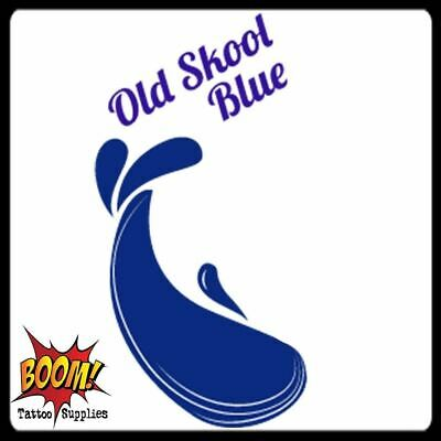 OLD SKOOL BLUE Triple Mix Tattoo Inks Supplies 34 Colour Inks Pigments UK Made