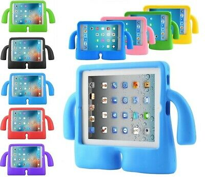 RUBBER KIDS SHOCKPROOF EVA FOAM STAND CASE FOR APPLE IPAD Air / Air 2 (iPad 5&6)