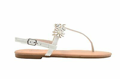 6241fc97af7 Chatties Ladies Fashion Sandals Pu T- Strap Sandal With Pearl   Flowers