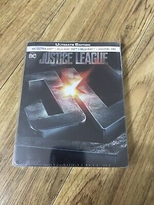 Justice League (Bluray 4K) French Limited Edition Steelbook