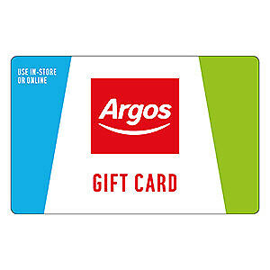 2x £100 Argos Gift Vouchers Cards £200 total London Collection