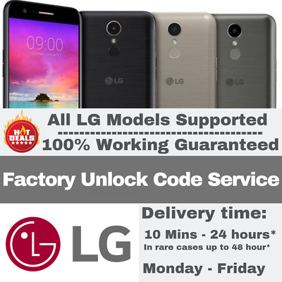 PREMIUM FACTORY UNLOCK CODE SERVICE FOR LG Q Stylus V35 ThinQ Q7 G7
