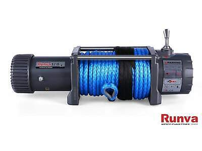 Runva 12000lb 12V Electric Winch 4wd Synthetic Dyneema Rope