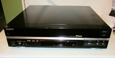 Vintage Sony MDP-200 Laser Disc Player