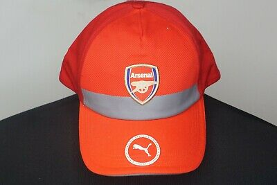 686169821a56ec Red Soccer-International Clubs Arsenal Puma Training Adjustable Snapback Hat  Sports Mem, Cards & Fan Shop