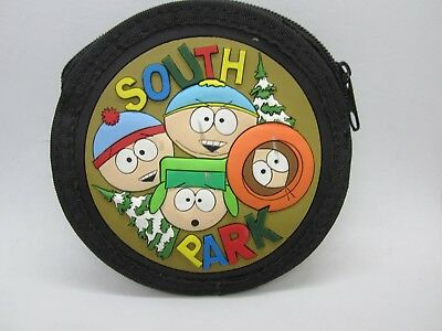 South Park Rubber Coin Purse Comedy Central Christmas Double Sided Zipper Closer